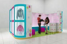 Островок для продажи одежды